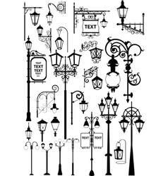 lanterns vector image