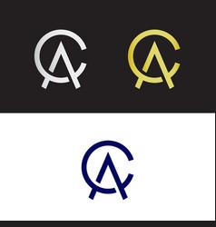 Ca logo vector