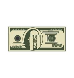 Dollar omg portrait franklin usa money american vector