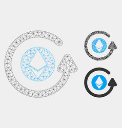 Ethereum chargeback mesh network model and vector
