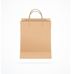 Paper Bag Eco Sale vector image