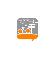 bike forum solutions vector image vector image