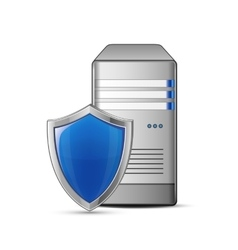 IT security concept vector image