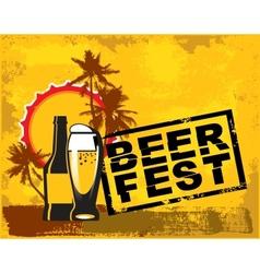 beer fest vector image