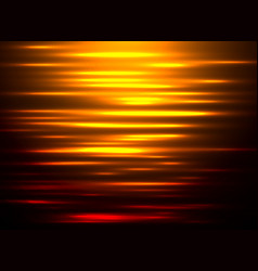 Abstract background water reflection at sunset vector