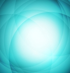 Abstract green background with circle vector