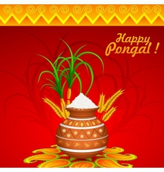 Happy Pongal vector
