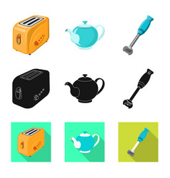 Kitchen and cook icon vector