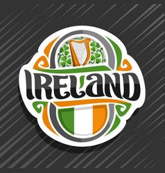 Logo for ireland vector