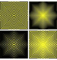 Octagons shapes vector
