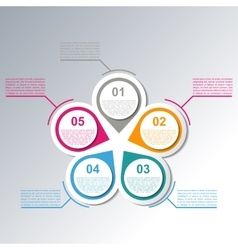 Set elements for infographics vector image