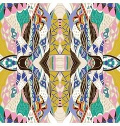 Traditional ornamental paisley bandanna vector