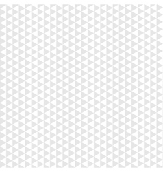Seamless pattern gray triangle on white background vector image