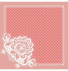square napkin vector image vector image
