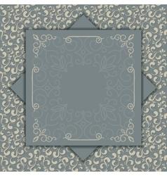 Luxury card or invitation vector image