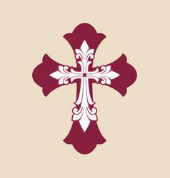 Cross jesus christ vector