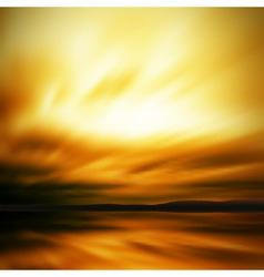Dramatic sky blur vector