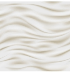 Fresh sour cream background vector image