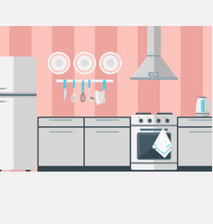 kitchen household appliances electronic vector image