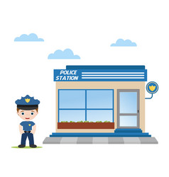 Office police vector
