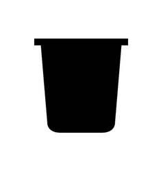 Pudding icon vector
