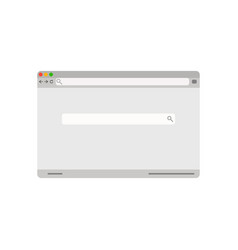 retro browser page vector image