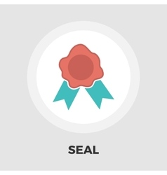 Seal icon flat vector image