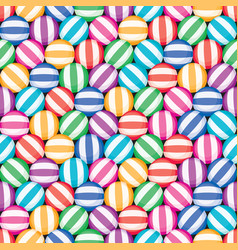 seamless candy background pattern vector image