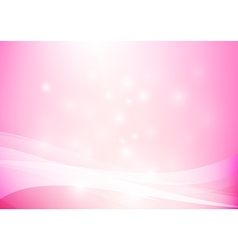 Pink yellow abstract background lighting curve and vector image vector image