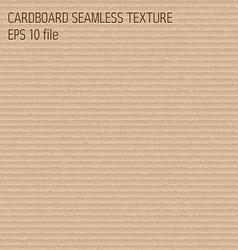 cardboard seamless textured pattern vector image