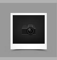 icon paper photo vector image