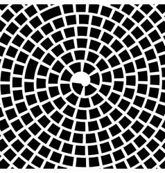 Black spiral background vector