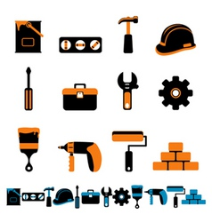 collection of tool vector image