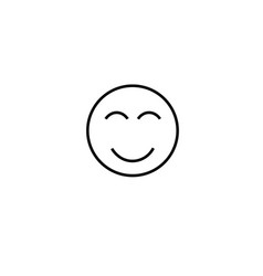 happy emotion icon vector image
