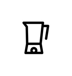kitchen blender icon mixer vector image