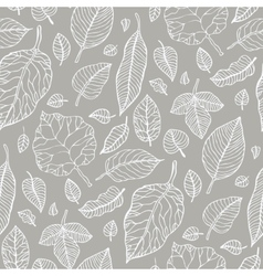 Leaves Seamless background vector image