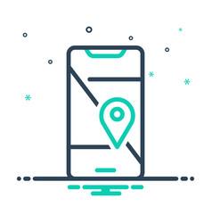 Mobile geo localization vector