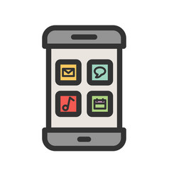 Multiple apps vector