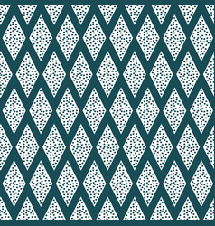 primitive patterns on a dark green background vector image