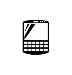 Smart communicator pda flat icon vector
