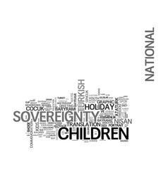 Sovereignty word cloud concept vector