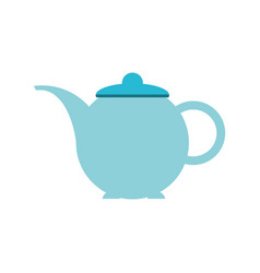 tea pot isolated vector image
