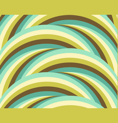 Abstract geometric background green blue circles vector