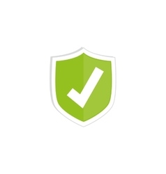 approval check symbol vector image