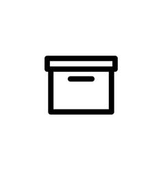 box pagkage icon vector image