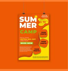 Summer-poster-modern-06 vector