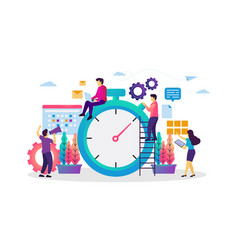 Time and schedule management vector