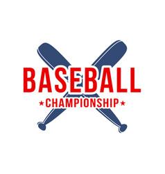 baseball background baseball bats with lettering vector image