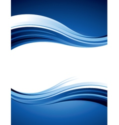 blue design vector image vector image