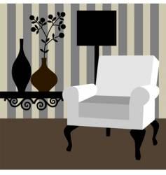 home interior vector image